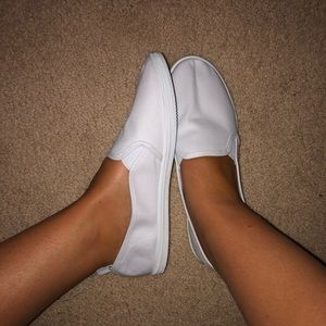 H&M white loafers casual
